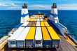 canvas print picture - Cargo ferry