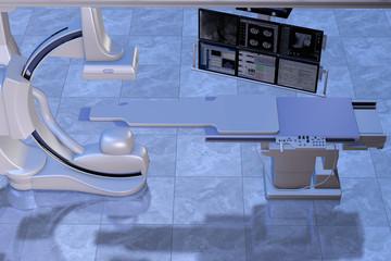 Modernes Angiographiesystem für die Herz- und Gefäßchirurgie