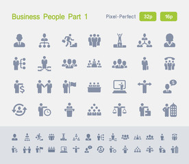 Business People Part 1   Granite Icons