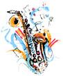 Vintage Saxophone - 73527744