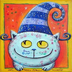 Magic Cat With Fairy Hat