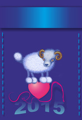 sheep, chinese horoscope, symbol 2015