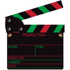 Christmas Clapper Board Blank