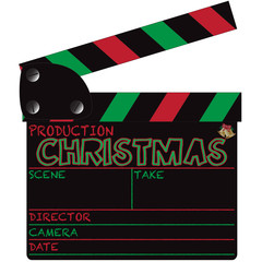 Christmas Clapper Board