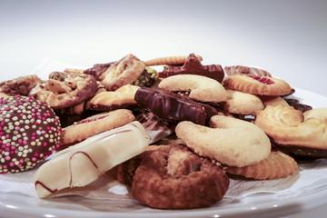 Weihnachtsplätzchen Teller
