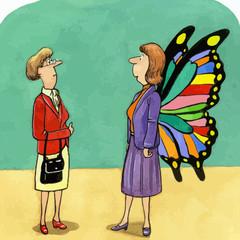 Businesswoman Growth and Development