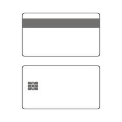 Icono tarjetas crédito dos caras