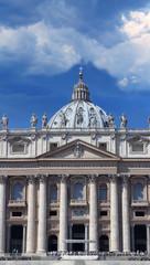 Saint Peter Basilica facade