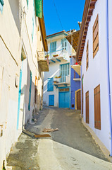 The winding backstreet