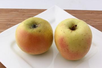 duo de pommes