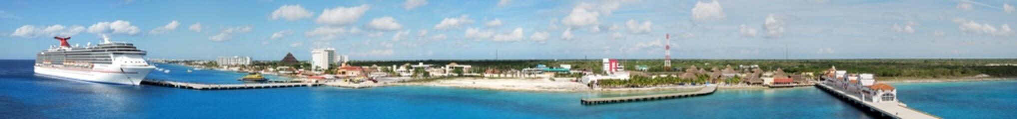 Cozumel Island Panorama