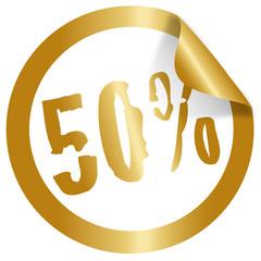 50 percent christmas icon