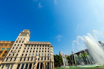 Placa de Catalunya - Barcelona Spain