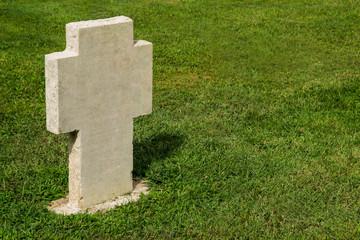 Croce al cimitero militare