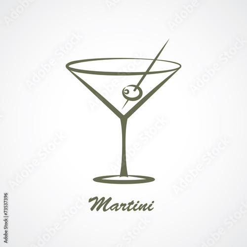 Fototapeta martini