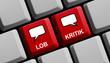 Meinungen online: Lob und Kritik