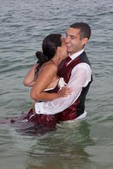 Mariage dans l'eau