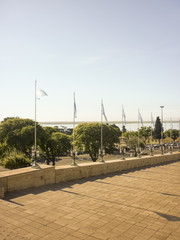 The National Flag Park In Rosario
