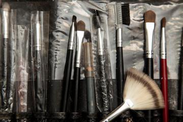 tools makeup in a beauty salon