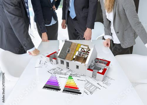 Energy efficient construction meeting - 73538596