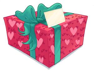 regalo con tarjeta
