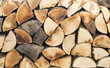 canvas print picture - Holz
