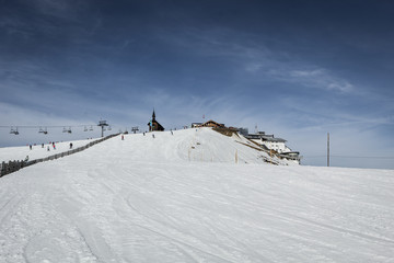 One of most famous ski resort in alps