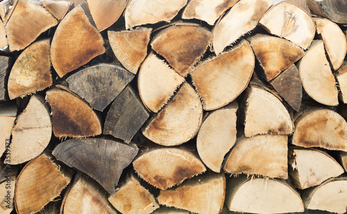 canvas print picture Holz