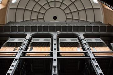 Aufzüge Alter Elbtunnel Hamburg