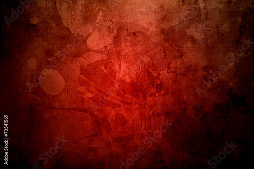 red grunge background or texture - 73541569