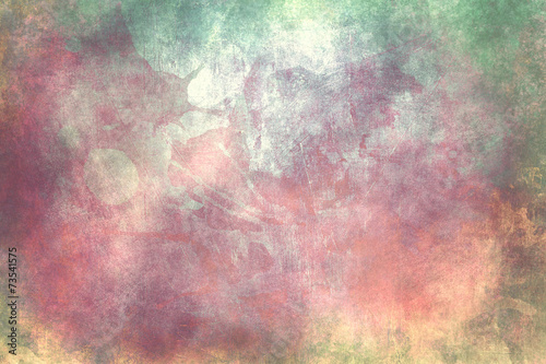 colorful grunge background or texture - 73541575