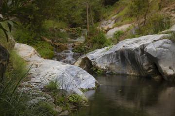 el rio del sendero