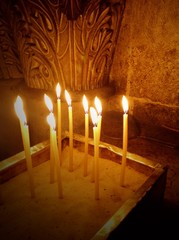 candles in Jerusalem