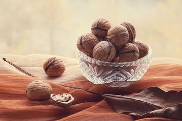 Still life walnuts