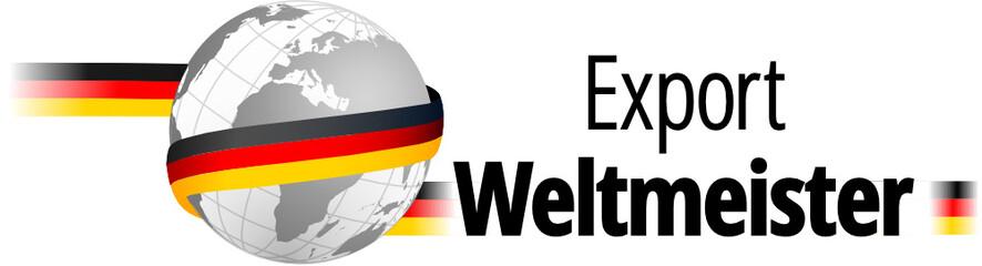 Export-Weltmeister Deutschland