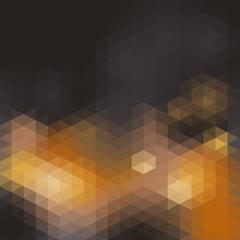 Mosaik grau orange abstrakt
