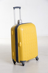 Rollalong suitcase with pull handle