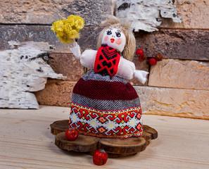 "Traditional Ukrainian ""motanka"""