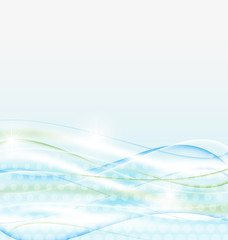 Abstract water background, wawy design