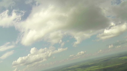 Aerial View, clouds