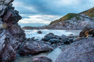 Rugged Cornwall Coast