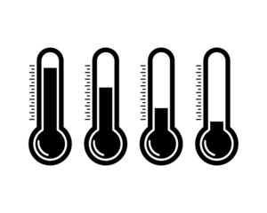 Thermometr icons