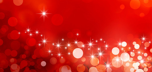 shiny red greeting card background