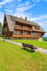 Mountain house in Arlamow village, Bieszczady Mountains, Poland