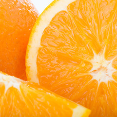 orange fruit, close up image texture background