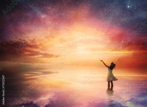 Night sky praise - 73552367