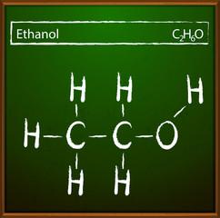 Ethanol molecular formula