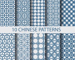 10 chinese patterns