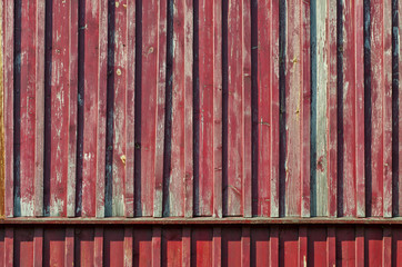painted old wooden house wall background