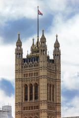 Victoria tower, London, UK